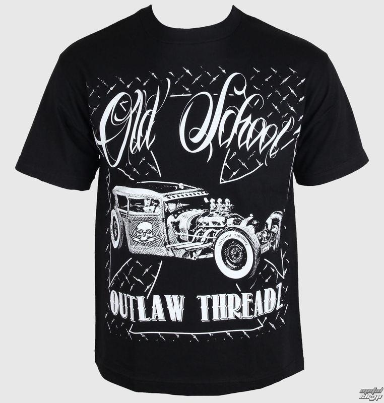 tričko pánské Outlaw Threadz - Old School - MT28