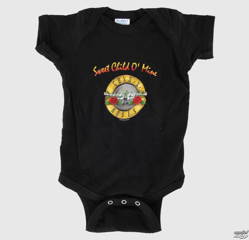body dětské Guns N Roses - Sweet Child - Black - BRAVADO - GNR2001