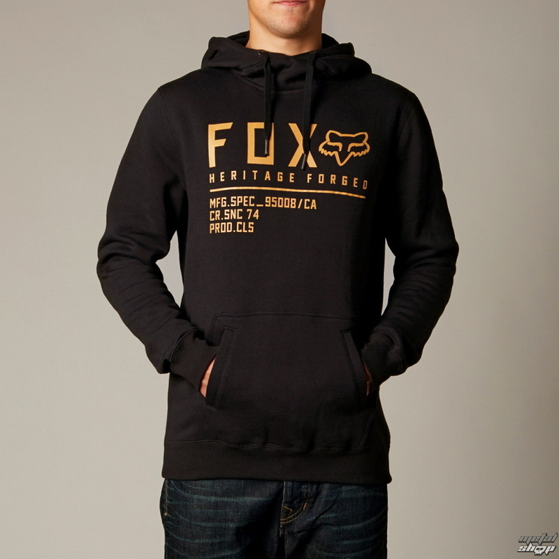 mikina pánská FOX - Allegiant - BLACK
