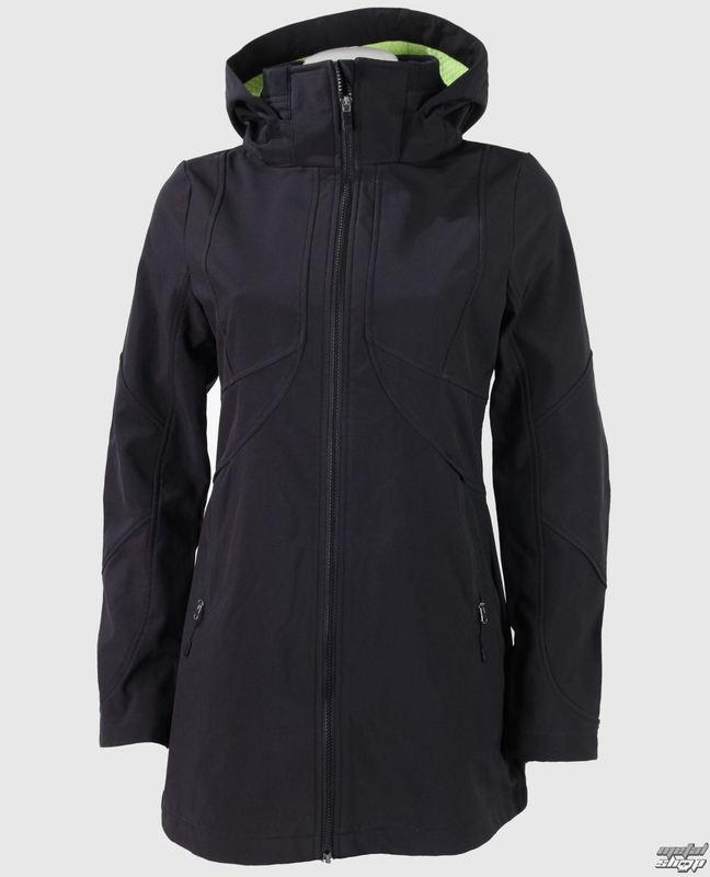 bunda (kabátek) dámská jarně/podzimní FOX - Revving Coat - Black
