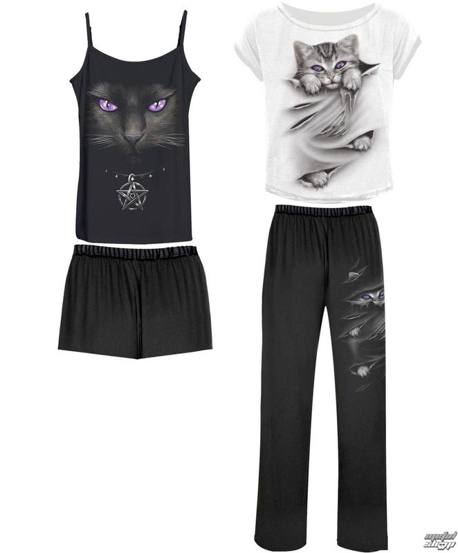 komplet na spaní dámský (pyžamo) SPIRAL - BRIGHT EYES - F011G601