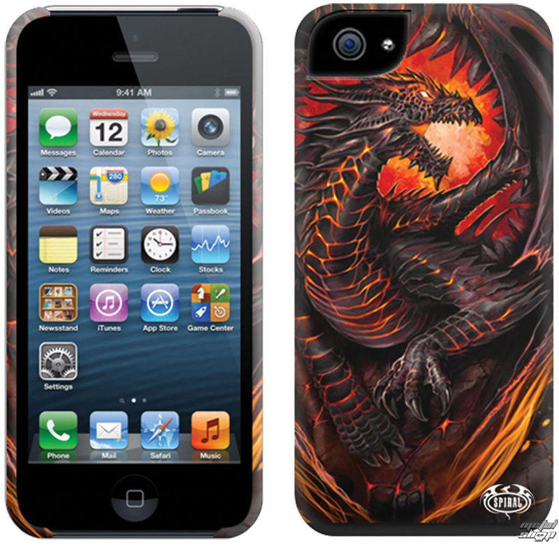 kryt na mobil SPIRAL - DRAGON FURNACE - Iphone - LG179574