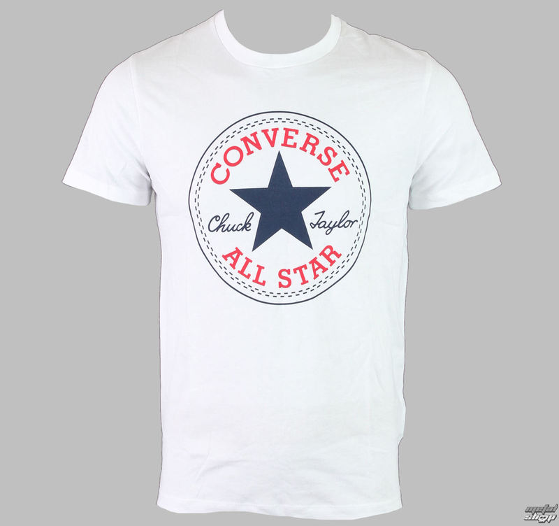 tričko pánské CONVERSE - AMT M19 - OPTIC WHITE - 10002848-102