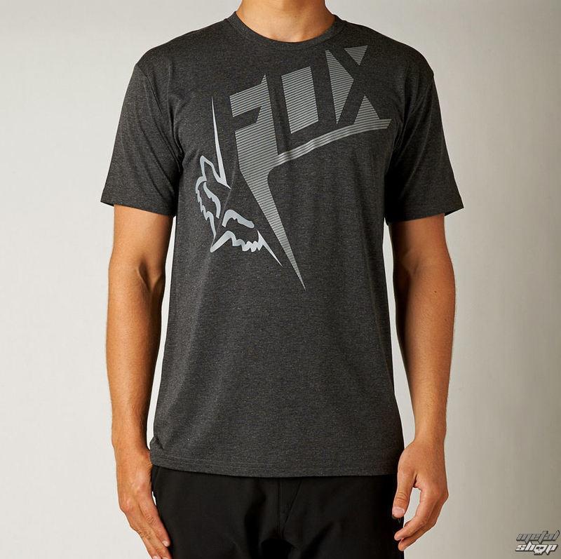 tričko pánské FOX - OUTCOME SS TECH - HEATHER BLACK - 10842-243