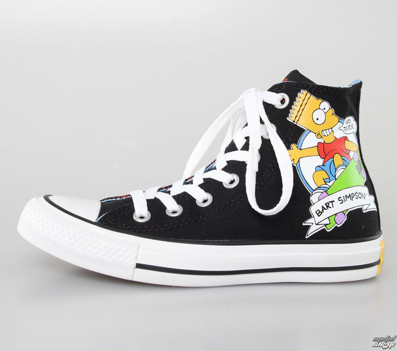 boty CONVERSE- The Simpsons - Chuck Taylor All Star - Black/Multi - C146810F