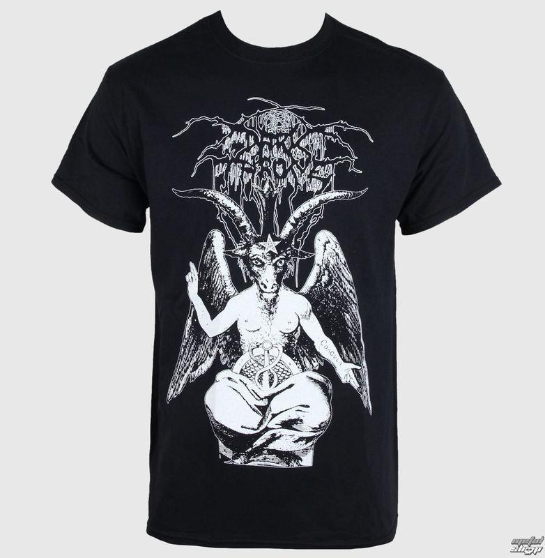 tričko pánské Darkthrone - Black Death Beyond Baphomet - RAZAMATAZ - ST1818
