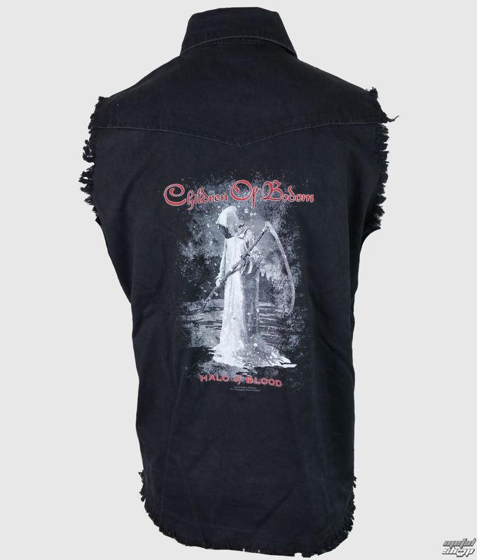 košile pánská bez rukávů Children of Bodom - Halo Of Blood - RAZAMATAZ - WS068