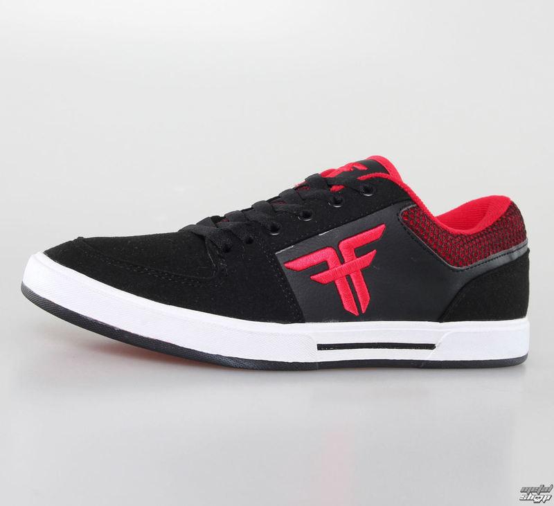 boty pánské FALLEN - Patriot - Black/Blood Red - 41070090