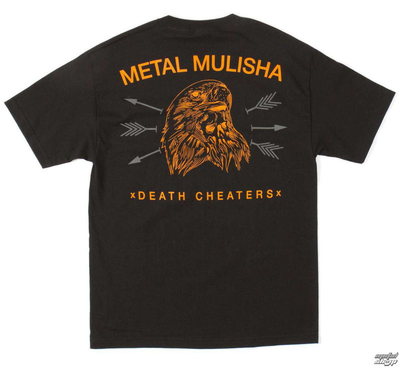tričko pánské METAL MULISHA - FREEBERD - BLK