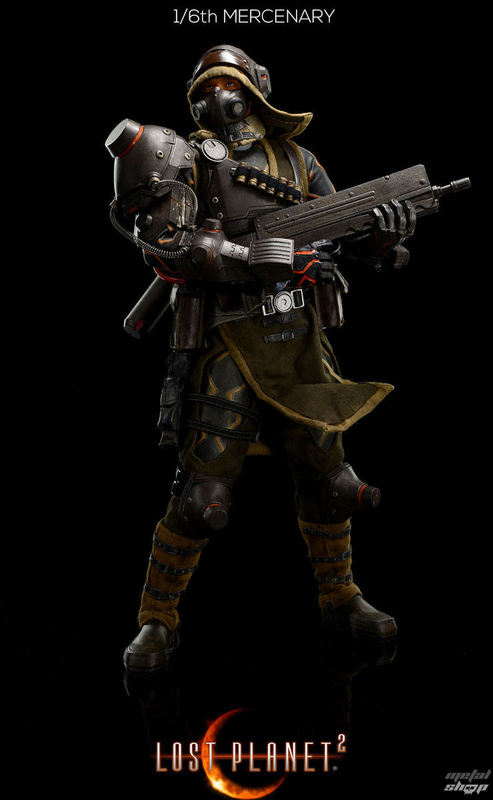 figurka NNM Lost Planet Mercenary