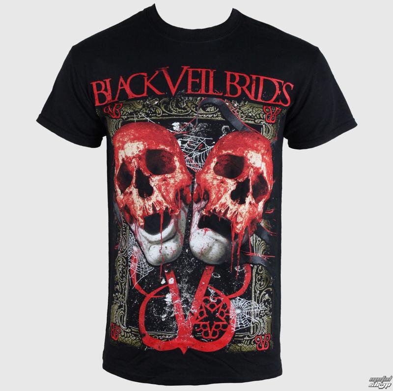 tričko pánské Black Veil Brides - Double Skull - PLASTIC HEAD - PH8136