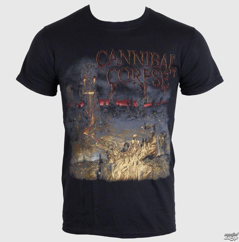 tričko pánské Cannibal Corpse - A Skeletal Domain 1 - PLASTIC HEAD - PH8783