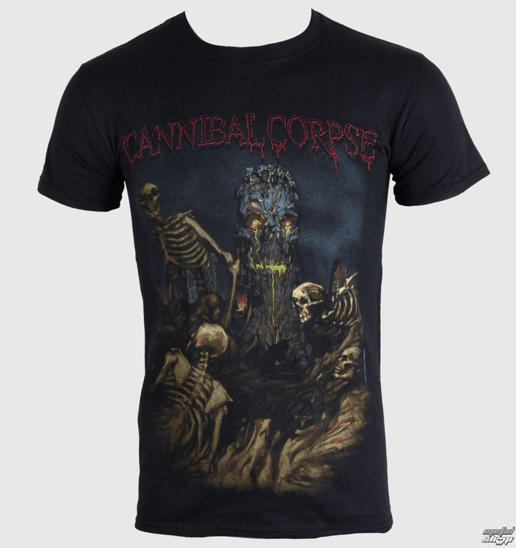 tričko pánské Cannibal Corpse - A Skeletal Domain 4 - PLASTIC HEAD - PH8782