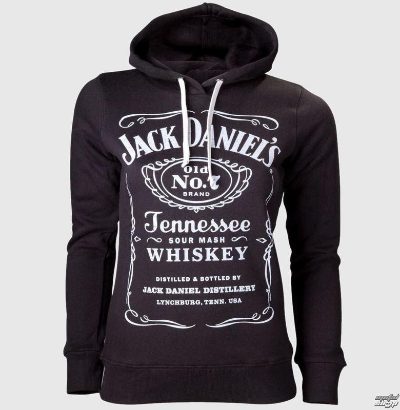 mikina dámská Jack Daniels - Black - HD130602JDS