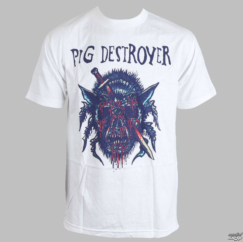 RELAPSE Pig Destroyer Blind (White) bílá