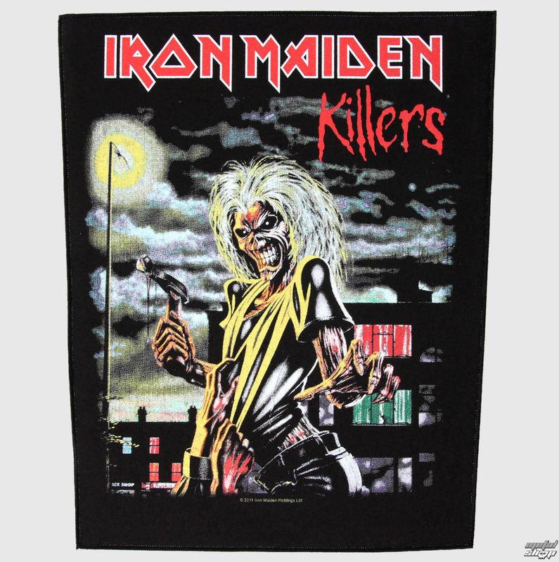 nášivka velká Iron Maiden - Killers - RAZAMATAZ - BP826