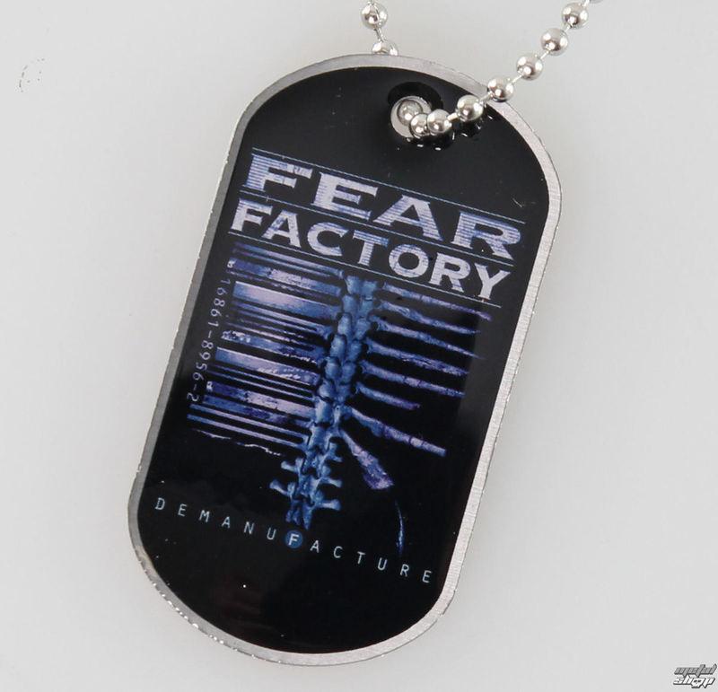 obojek (psí známka) Fear Factory - Demanufacture - RAZAMATAZ - DT060