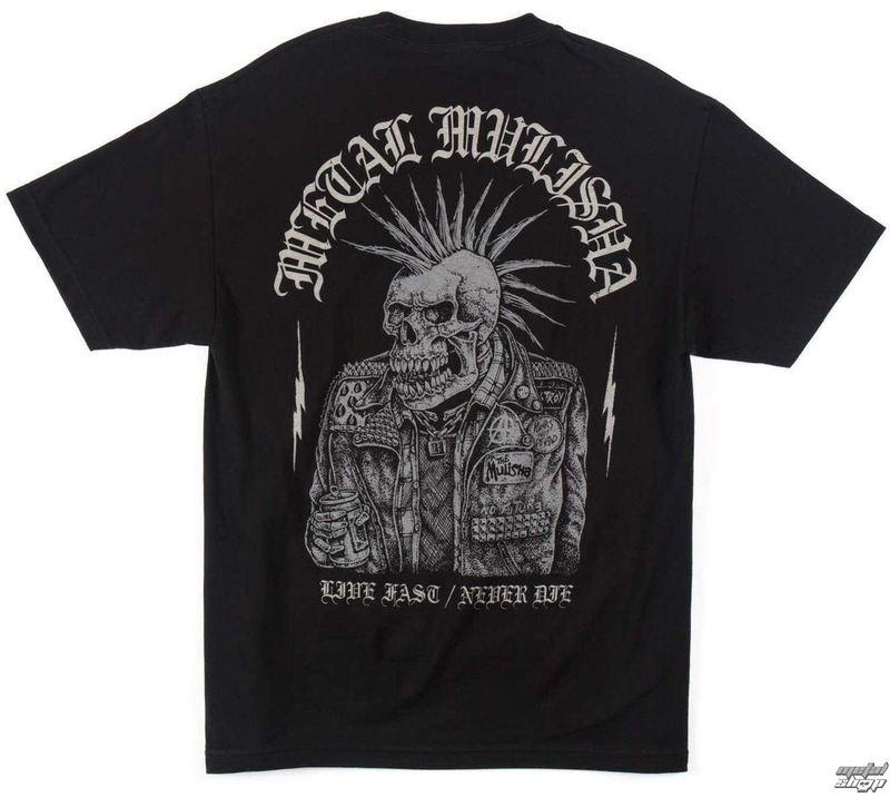 tričko pánské METAL MULISHA - GUTTER - BLK