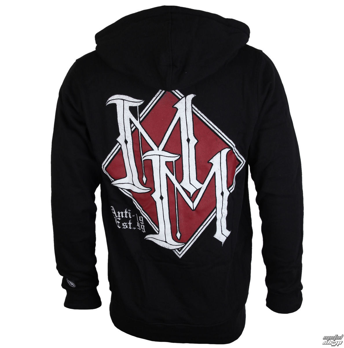 mikina pánská METAL MULISHA - DIAMOND ZIP-UP - BLK