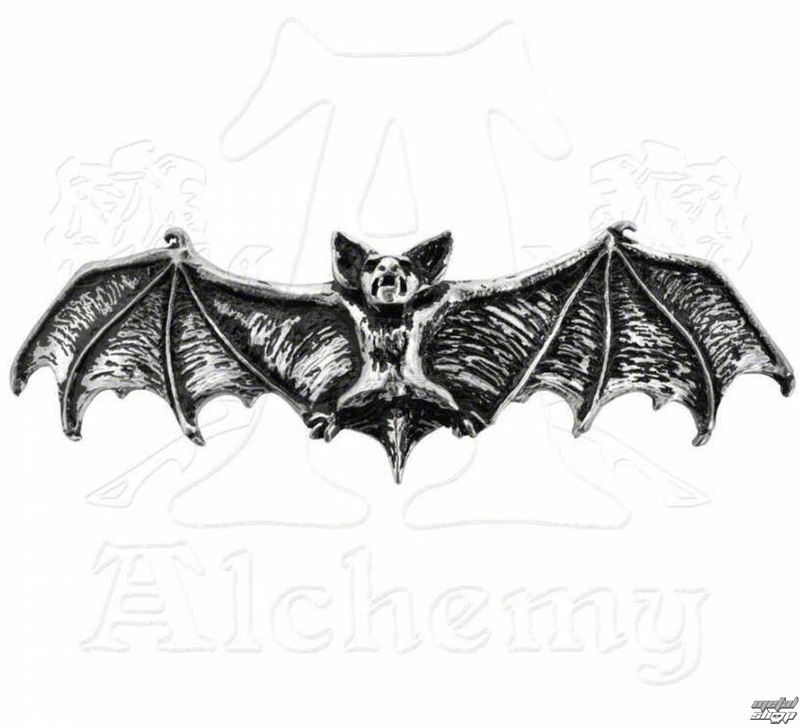 sponka do vlasů ALCHEMY GOTHIC - Darkling Bat - HH1