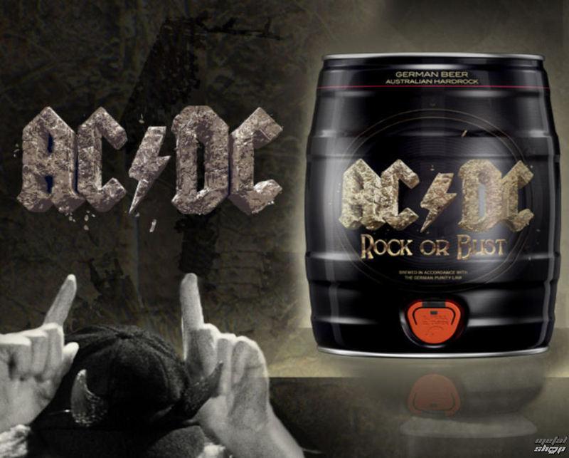 pivo (soudek) AC/DC - Rock Or Bust - ZAN001
