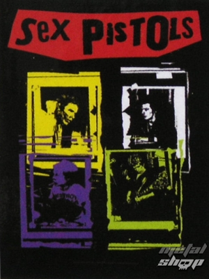 vlajka Sex Pistols - Band Frames