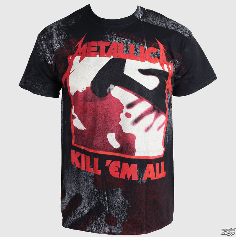 tričko pánské Metallica - In - Grained Kill Em All - Over Premium - LIVE NATION - PEMTL1000
