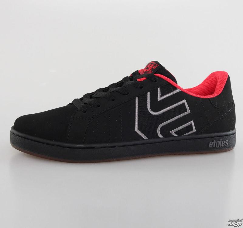 boty pánské ETNIES - Fader LS 576 - Black/Grey/Red