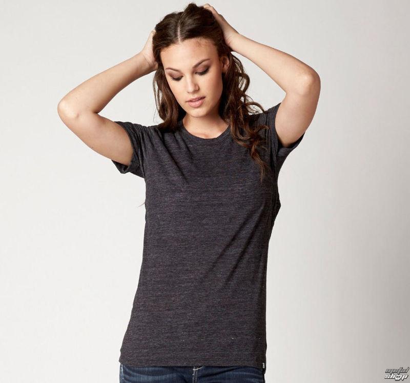 tričko dámské (top) FOX - Veil - Black