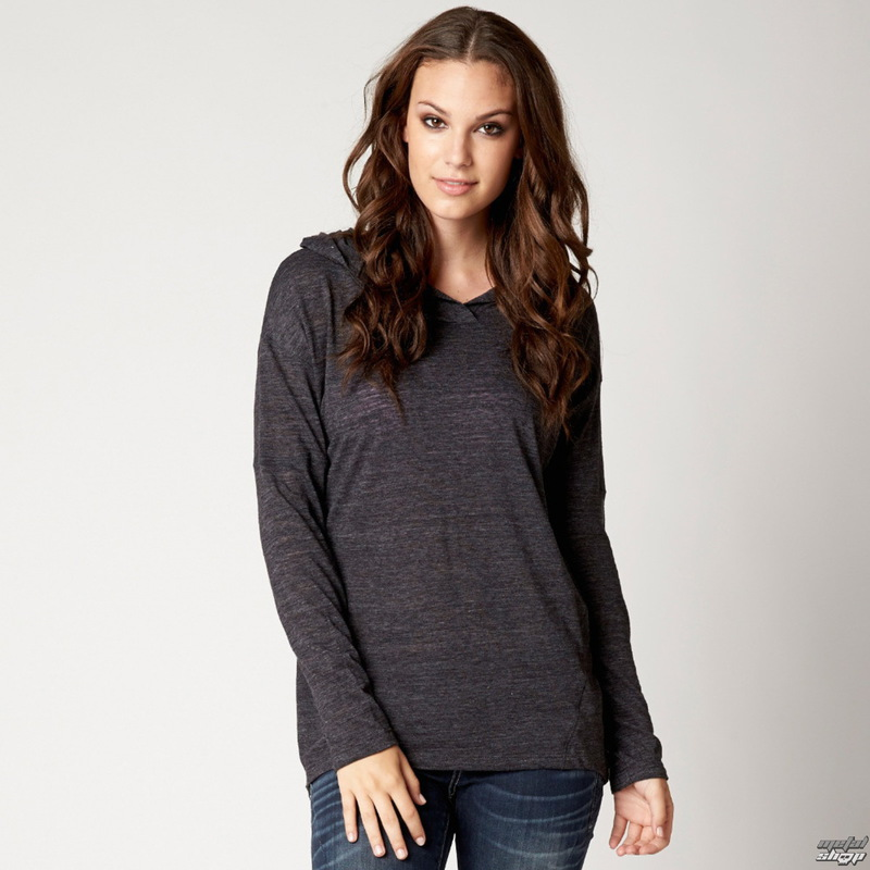 tričko dámské s dlouhým rukávem FOX - Crossed - Black
