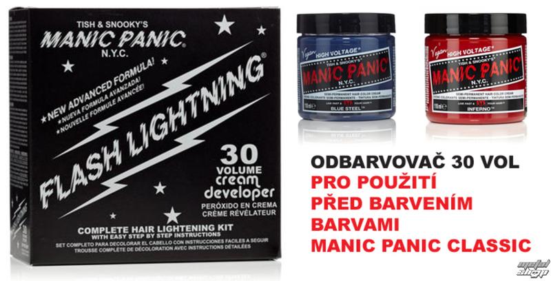 barva na vlasy (zesvětlovač) MANIC PANIC - 30 vol.