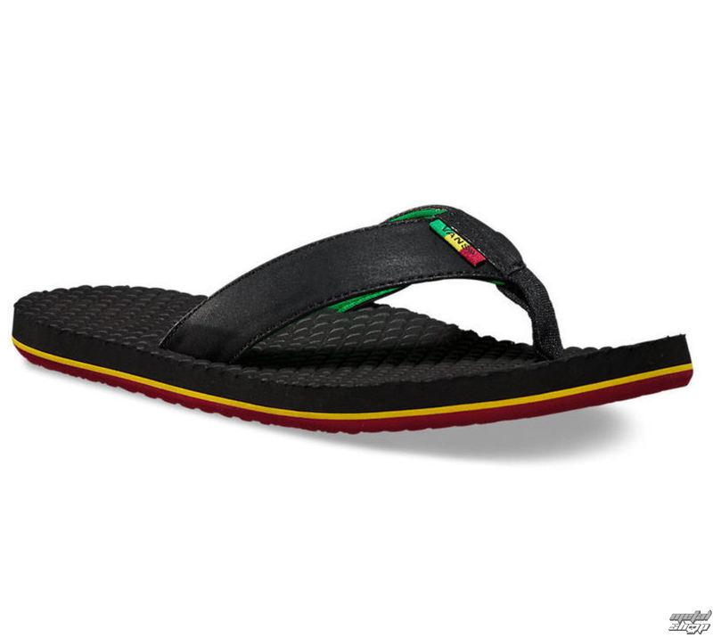 sandály pánské VANS - SALIDITA (Rasta) - Black - VZTM1G8