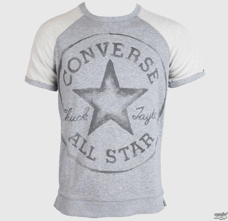 tričko pánské CONVERSE - CORE - Gray - 09764C-035