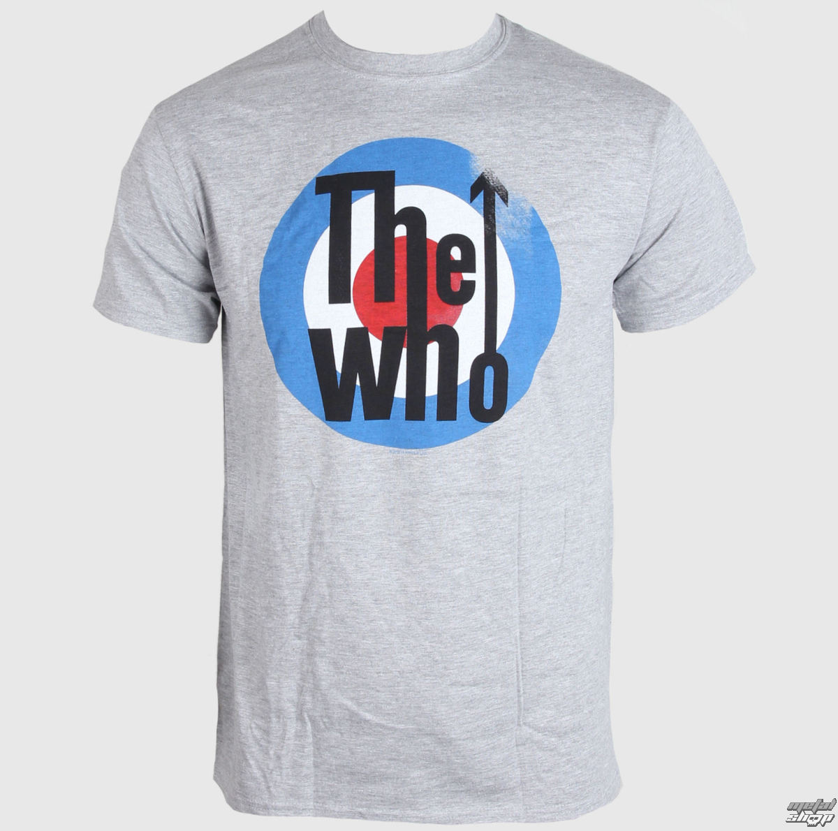 tričko pánské The Who - Target - Grey - LIVE NATION