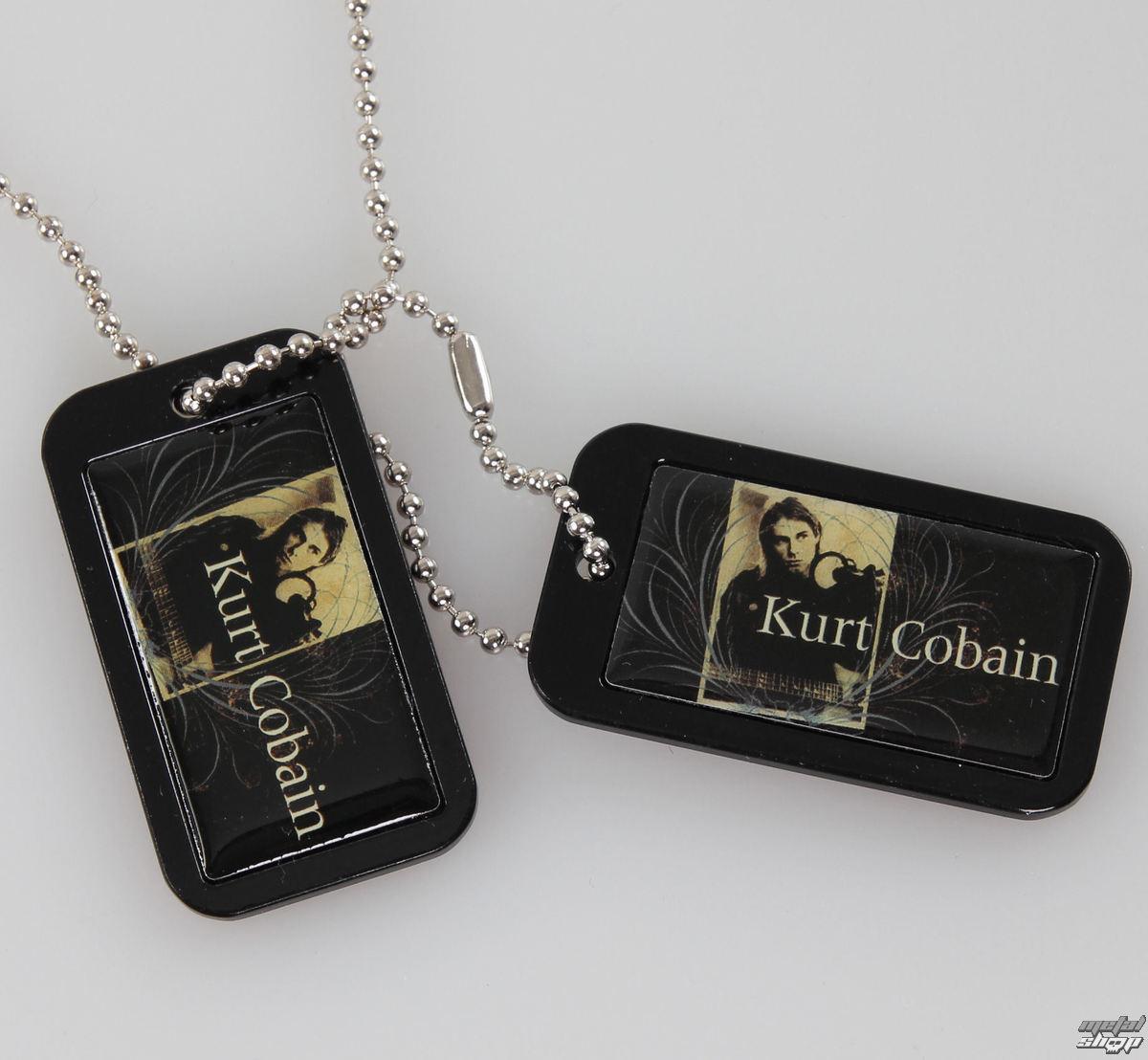 obojek (psí známka) Kurt Cobain - Blue Crest - LIVE NATION - PE43244ACCP