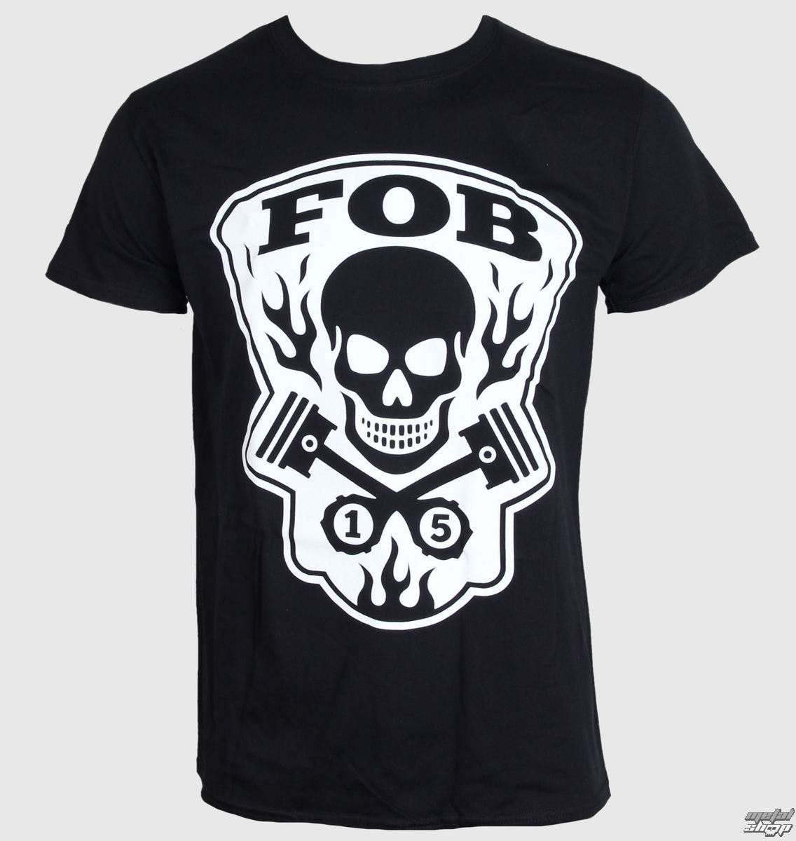 tričko pánské Fall Out Boy - Gear Head - Black - LIVE NATION - PE11874TSBP