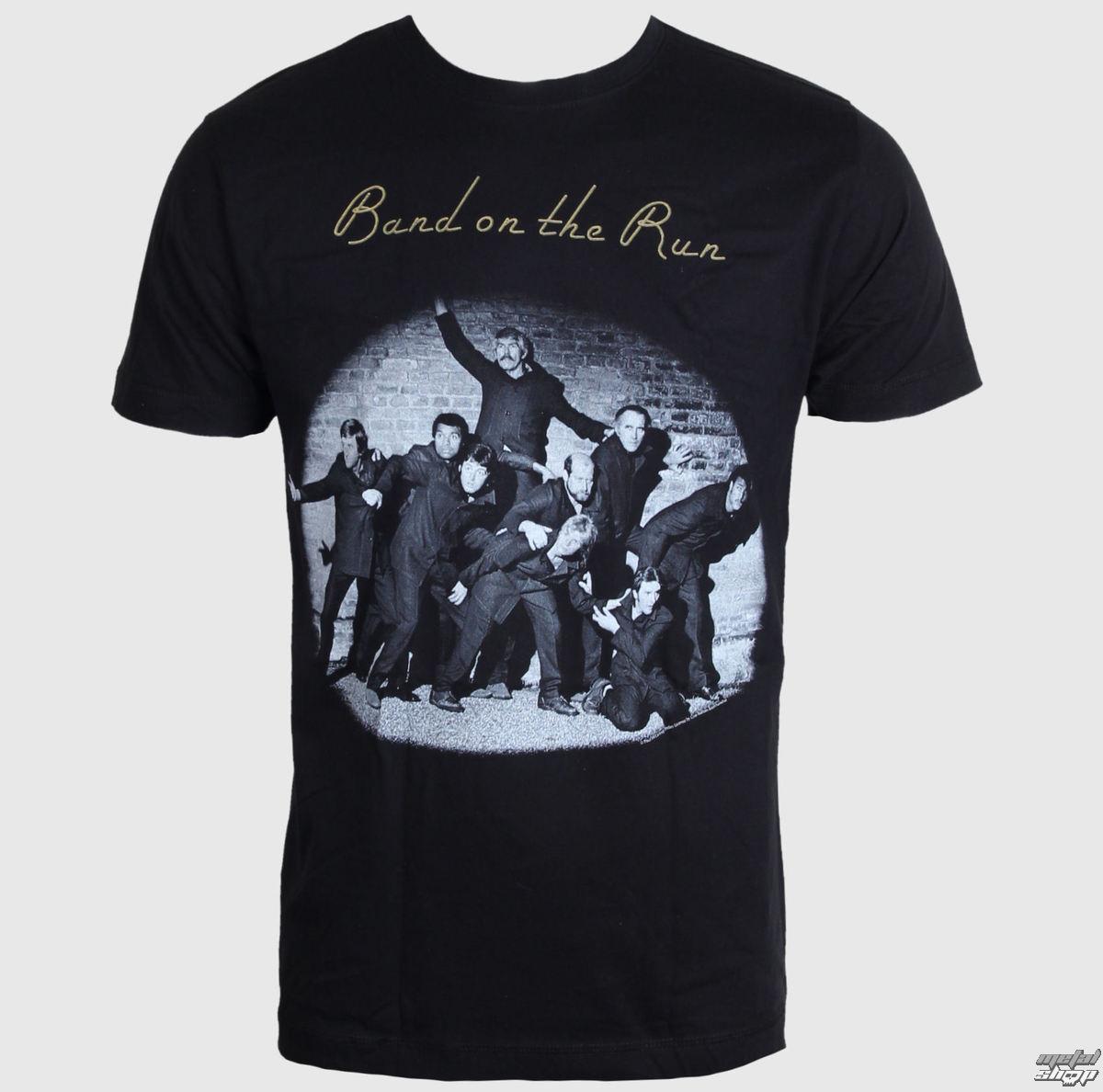 tričko pánské Paul McCartney & Wings - Band On The Run - LIVE NATION - PEPMC020