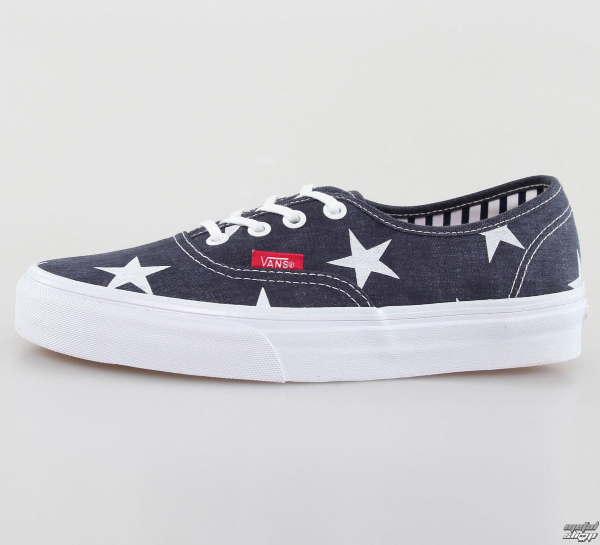 boty VANS - U Authentic - Stars Stripe - True White - VZUKFL9