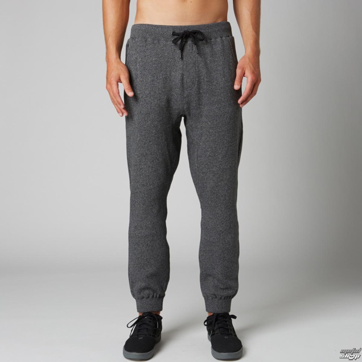 kalhoty (tepláky) pánské FOX - Hondo - Heather Black - 15S-13529-243