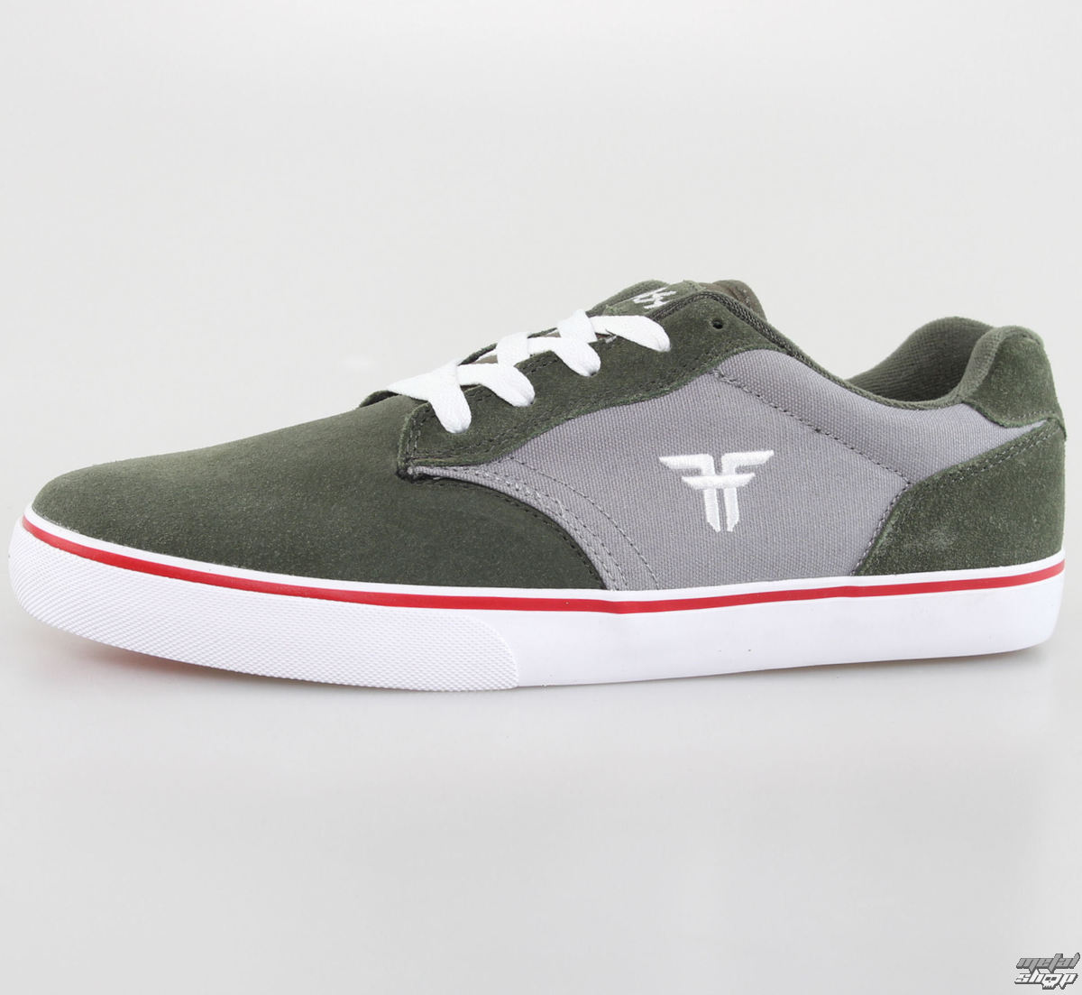 boty pánské FALLEN - Slash - Surplus Green/Cement Grey