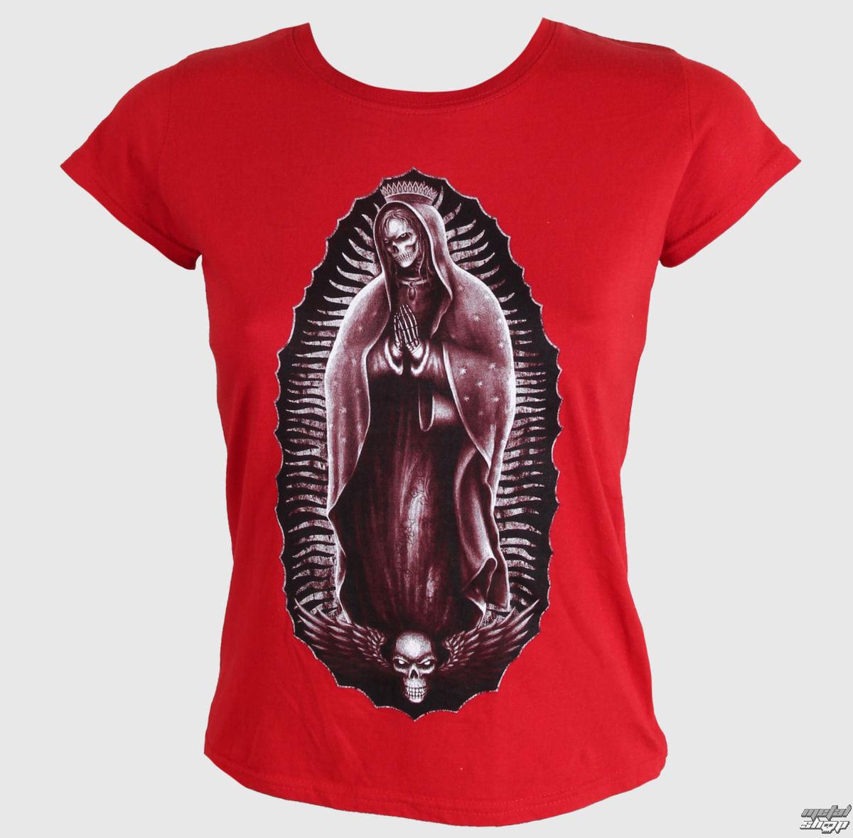 tričko dámské DARKSIDE - Red - DS054