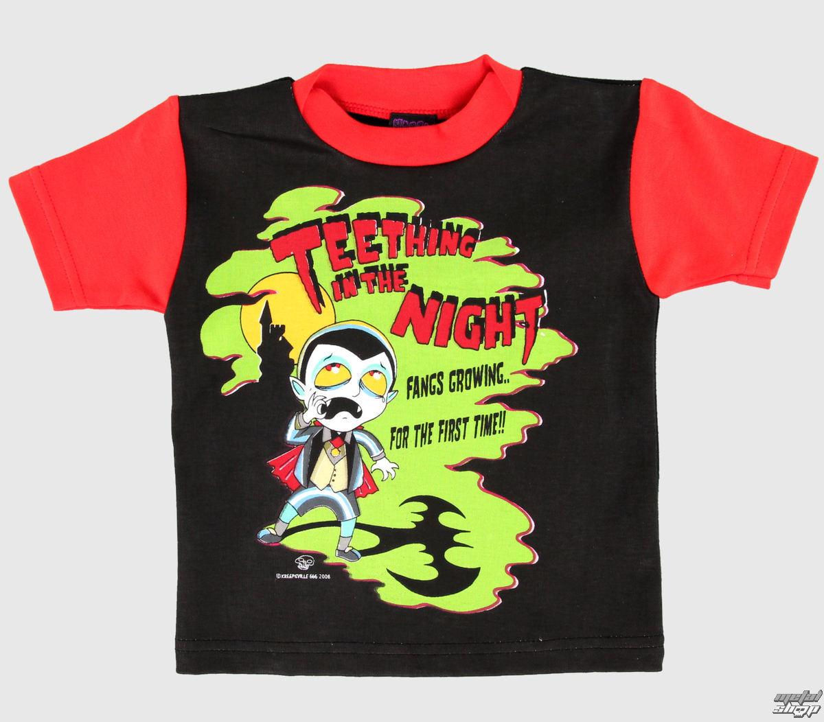 tričko dětské KREEPEKIDS - Black - NS312