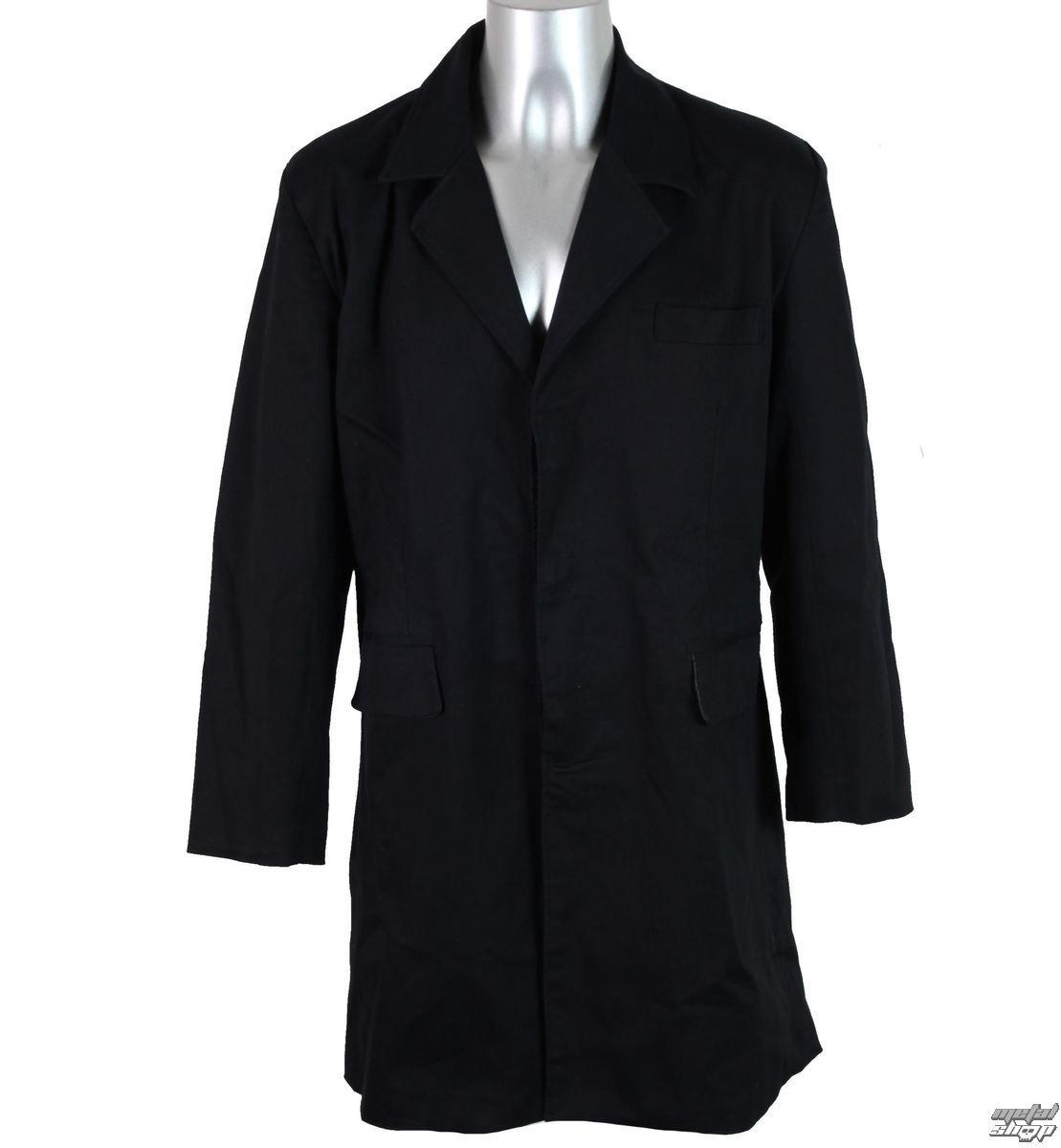 kabát pánský jarně/podzimní BAT ATTACK - Black - FDTD43350