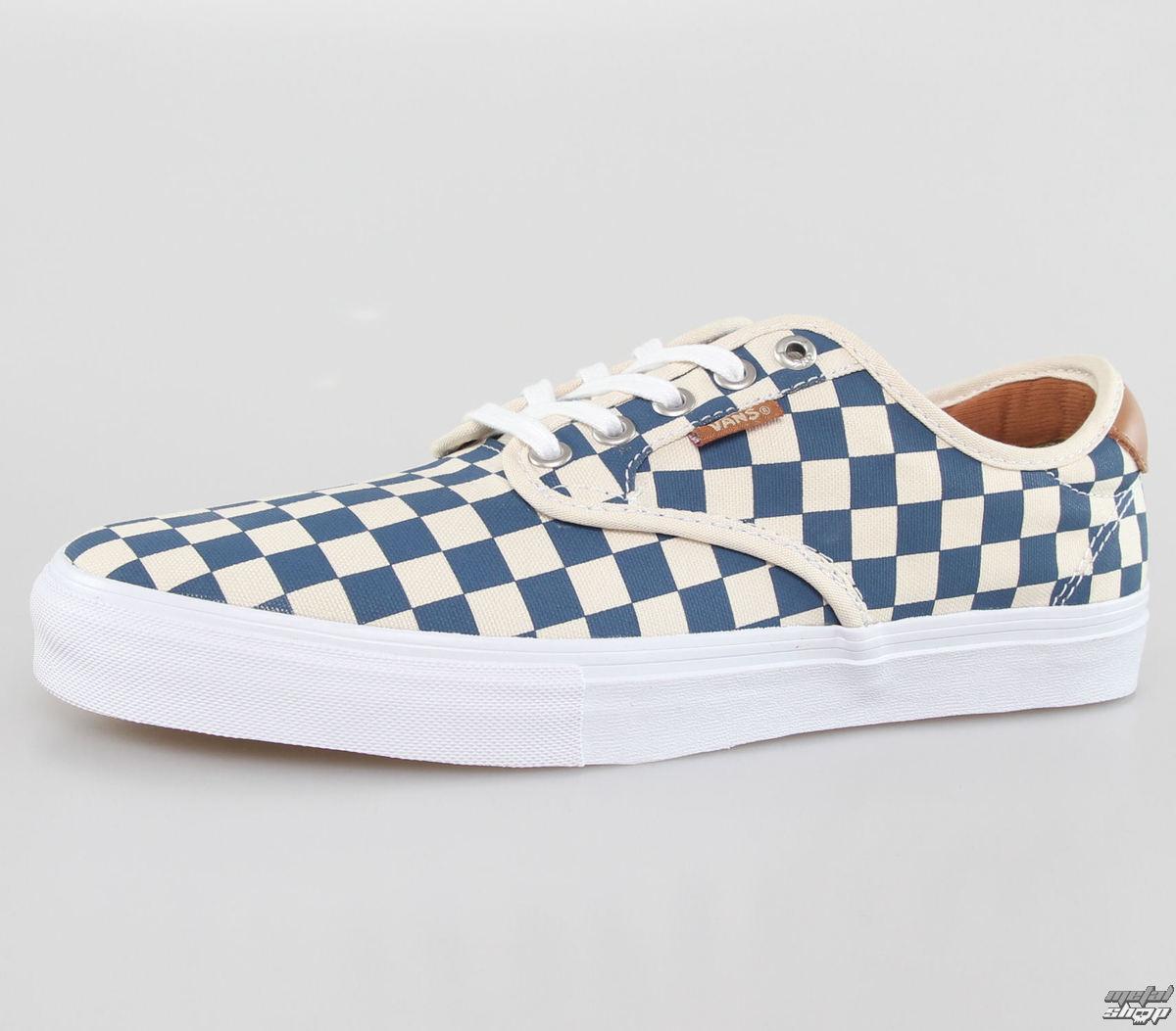 boty pánské VANS - Chima Ferguson Pro (Checkerb Oard) - Tan/Blue - VUARFBU