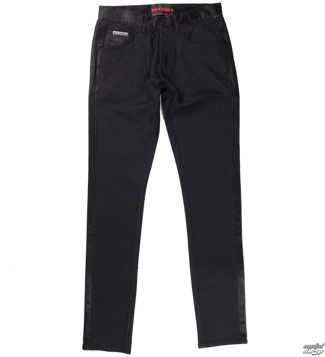 kalhoty QUEEN OF DARKNESS - Black - TR2-176/13