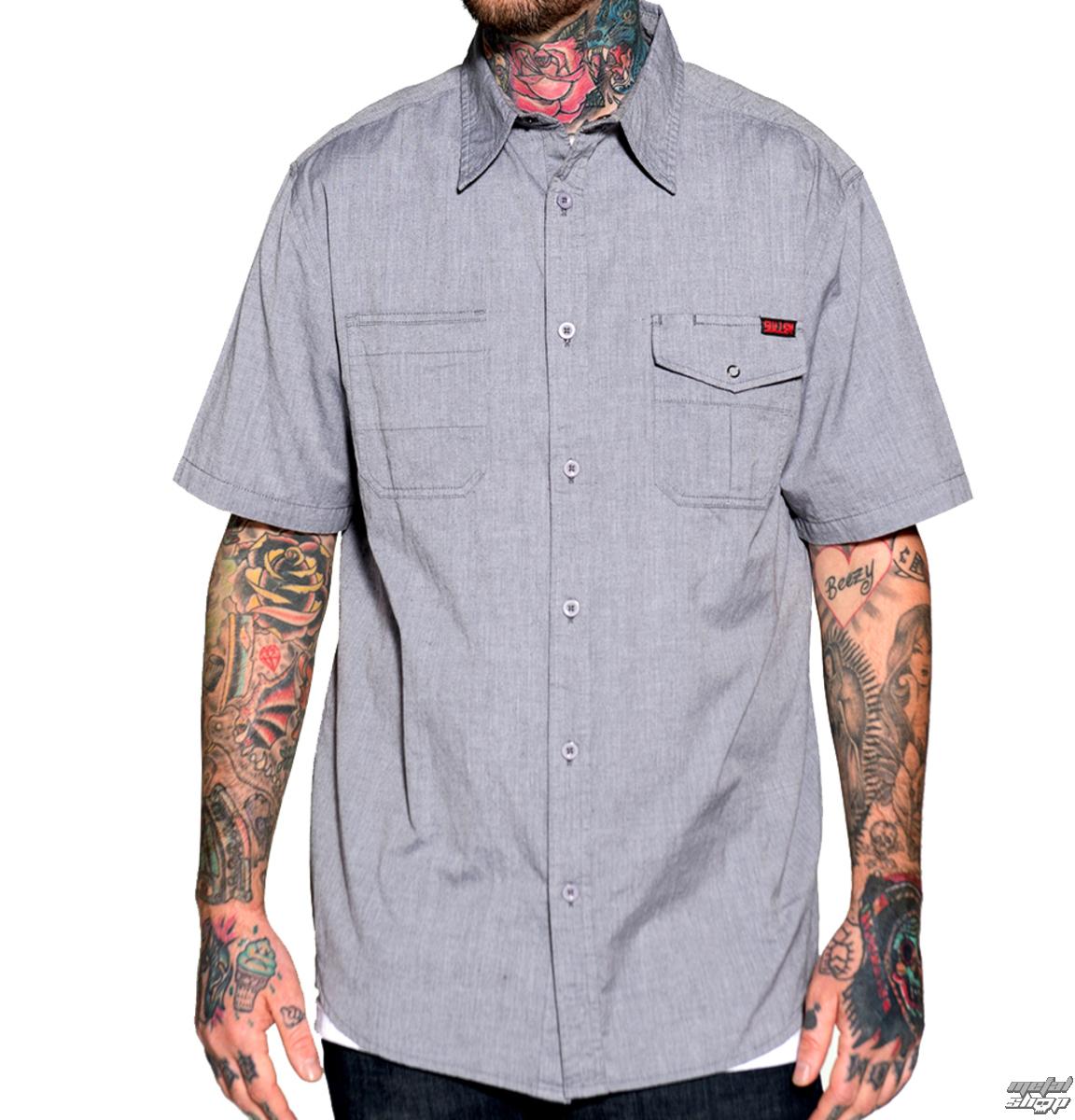 košile pánská SULLEN Crook - Grey
