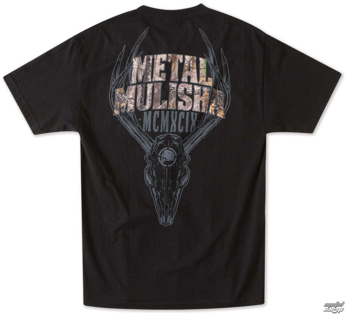 tričko pánské METAL MULISHA - Six Point - BLK