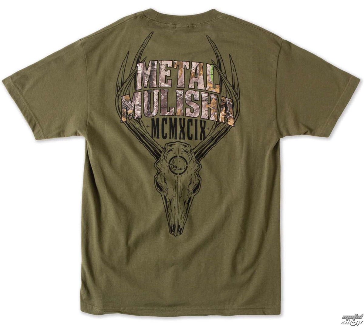 tričko pánské METAL MULISHA - Six Point - MGN