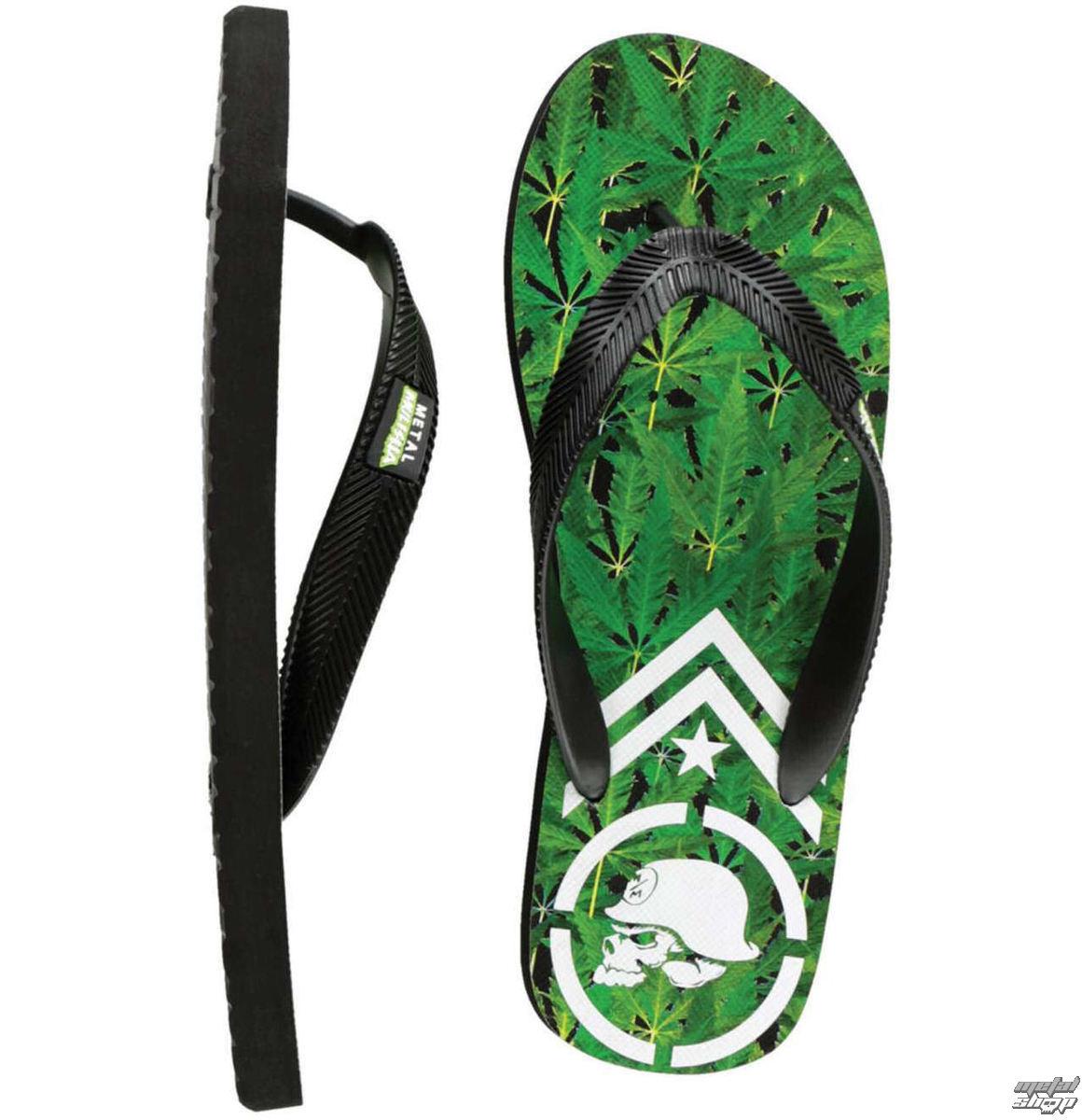 sandály pánské METAL MULISHA - Trees - BLK