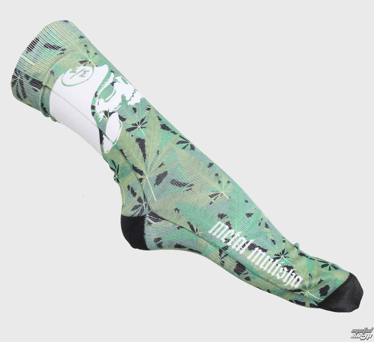 ponožky METAL MULISHA - Trees - BLK
